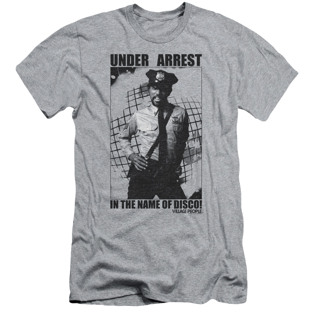 The Village People Under Arrest Mens Slim Fit Shirt