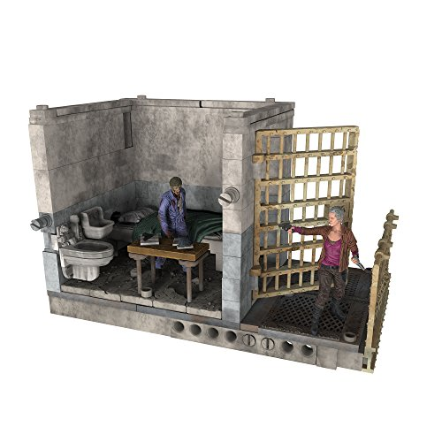 McFarlane Toys Construction Sets- The Walking Dead TV Upper Prison Cell  Set