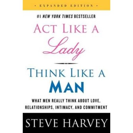 Act Like A Lady  Think Like A Man  Expanded Edition  What Men Really Think About Love  Relationships  Intimacy  And Commitment  Paperback