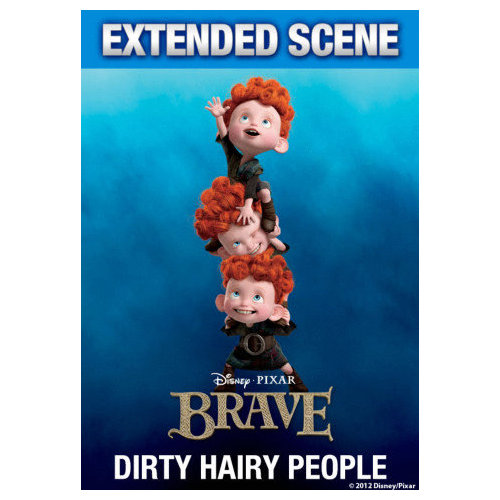Brave: Dirty Hairy People (Featurette) (2012)