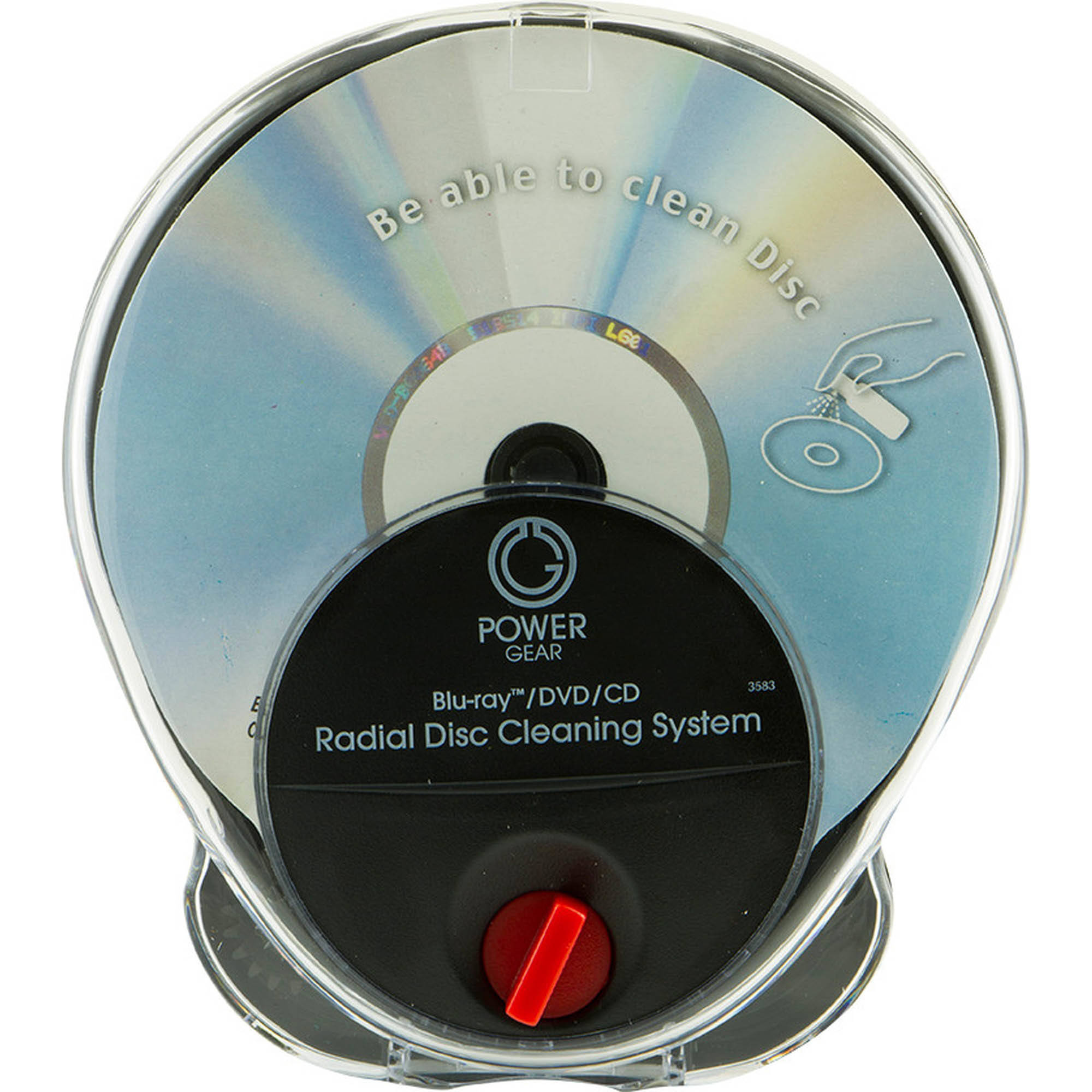 Power Gear Blu-ray/DVD/CD Radical Disc Cleaning System