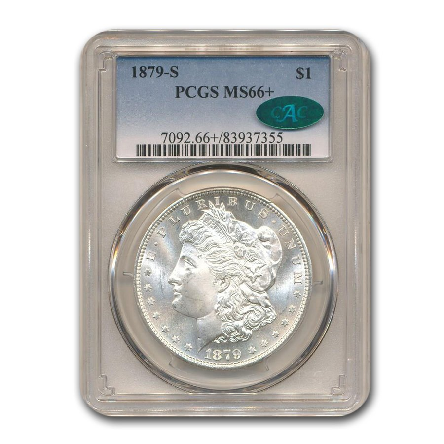 1879-S Morgan Dollar MS-66+ PCGS CAC