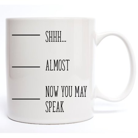 Davis Vinyl Designs Shhh Coffee Mug