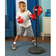70cm-105cm Children Kids Boxing Stand Speed Punching Ball Freestanding Punching Bag with Stand Gloves and... by Estink