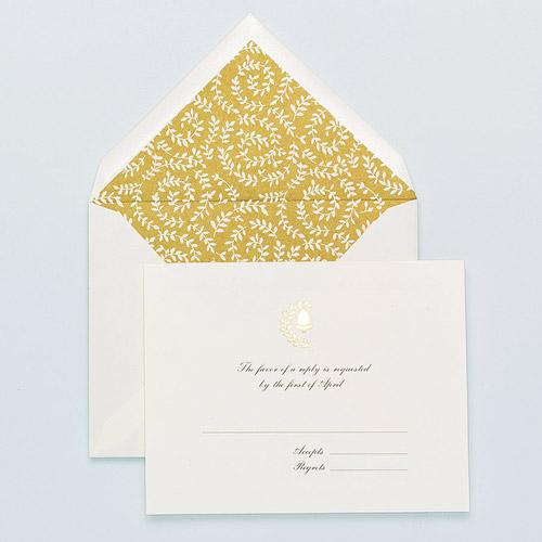 Martha Stewart Bell Pattern Blank Printable Cards