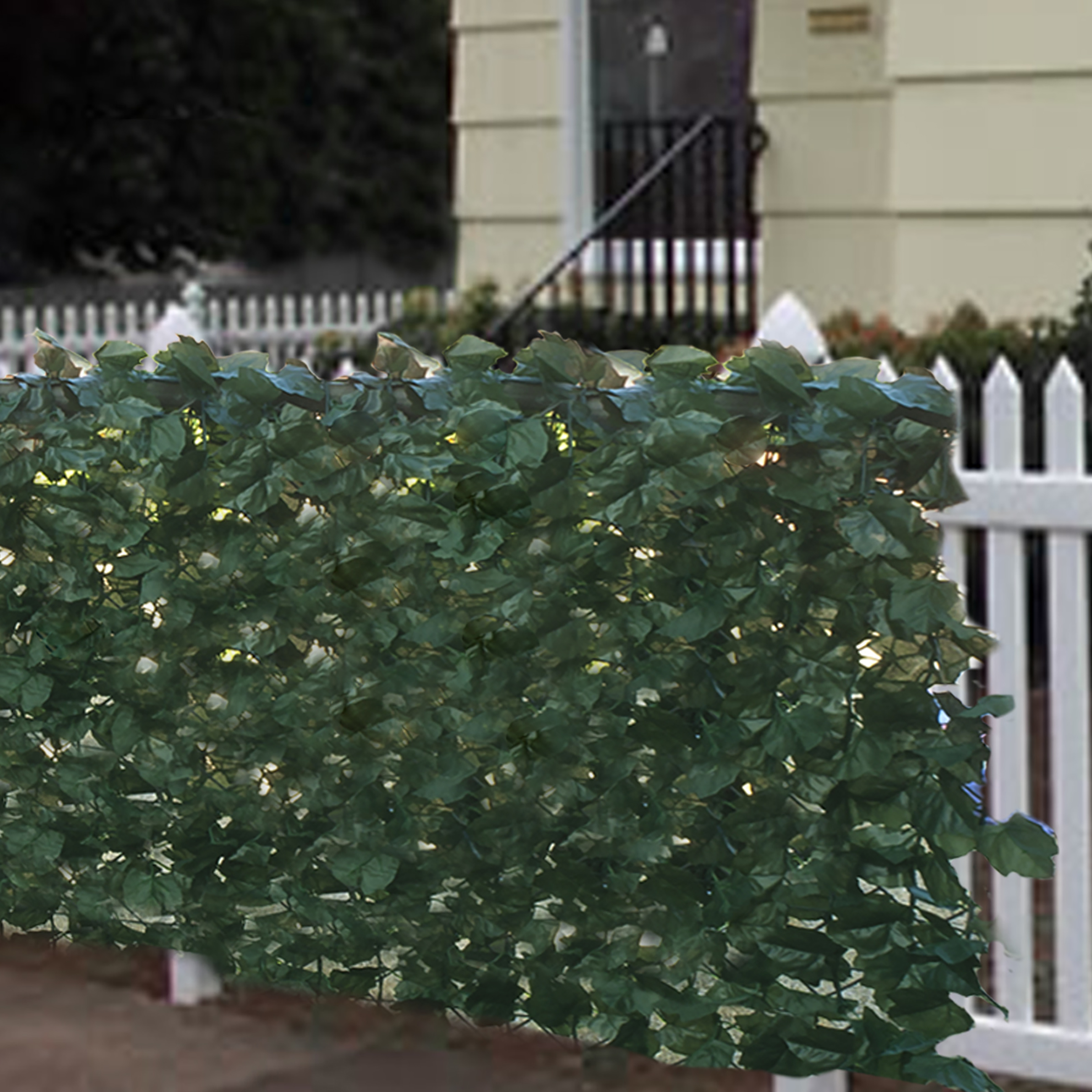 "Faux Ivy Privacy Fence Screen 94"" X 59"" Artificial Hedge Fencing Outdoor Decor by"