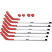 "47"" Aluminum Hockey Sticks, Red by Shield"