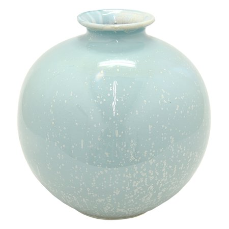 Three Hands Green Ceramic Vase Walmart