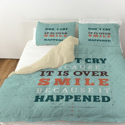 Manual Woodworkers & Weavers Smile at Past Duvet Cover