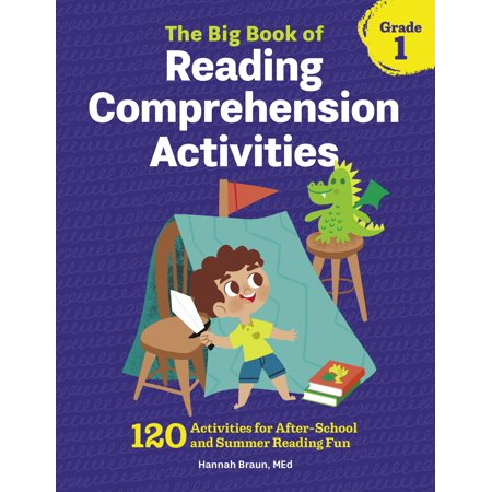 The Big Book of Reading Comprehension Activities, Grade 1 : 120 Activities for After-School and Summer Reading Fun](Halloween Reading Activity Esl)