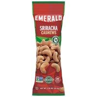 Emerald Nuts Sriracha Cashews, Single-Serve 1.25 Oz, 12 Ct