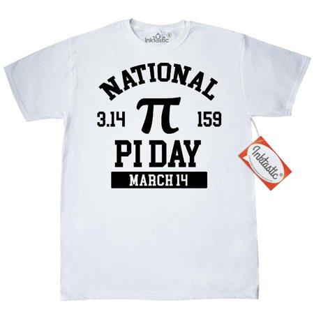 X Men Symbol (Inktastic National Pi Day 3.14 March 14th T-Shirt Pie 3.14 Symbol 14 Mens Adult Clothing Apparel Tees)