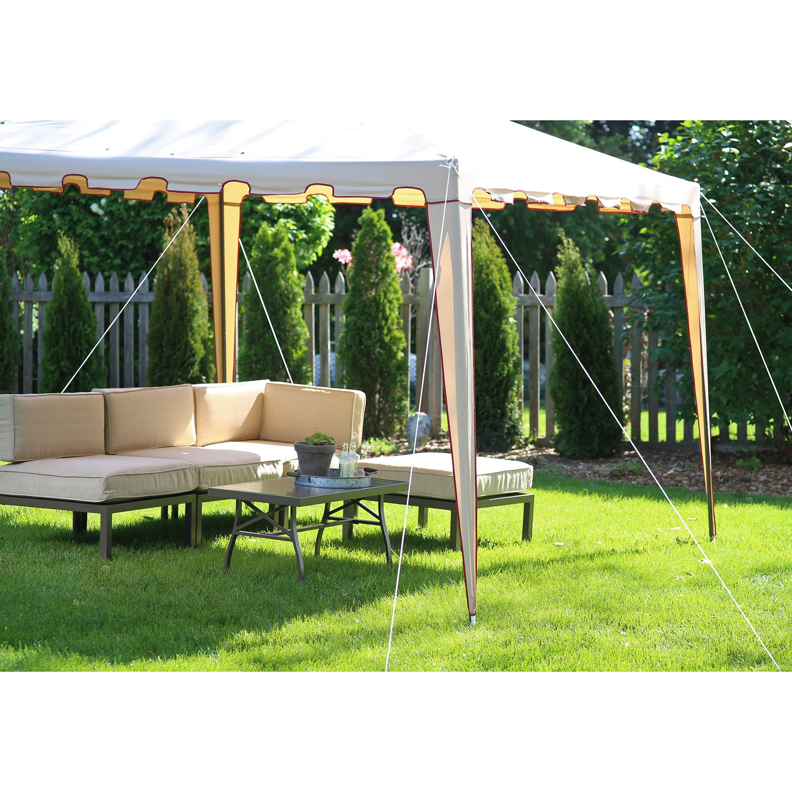coral coast backyard festival 10 x 10 ft gazebo canopy walmart com