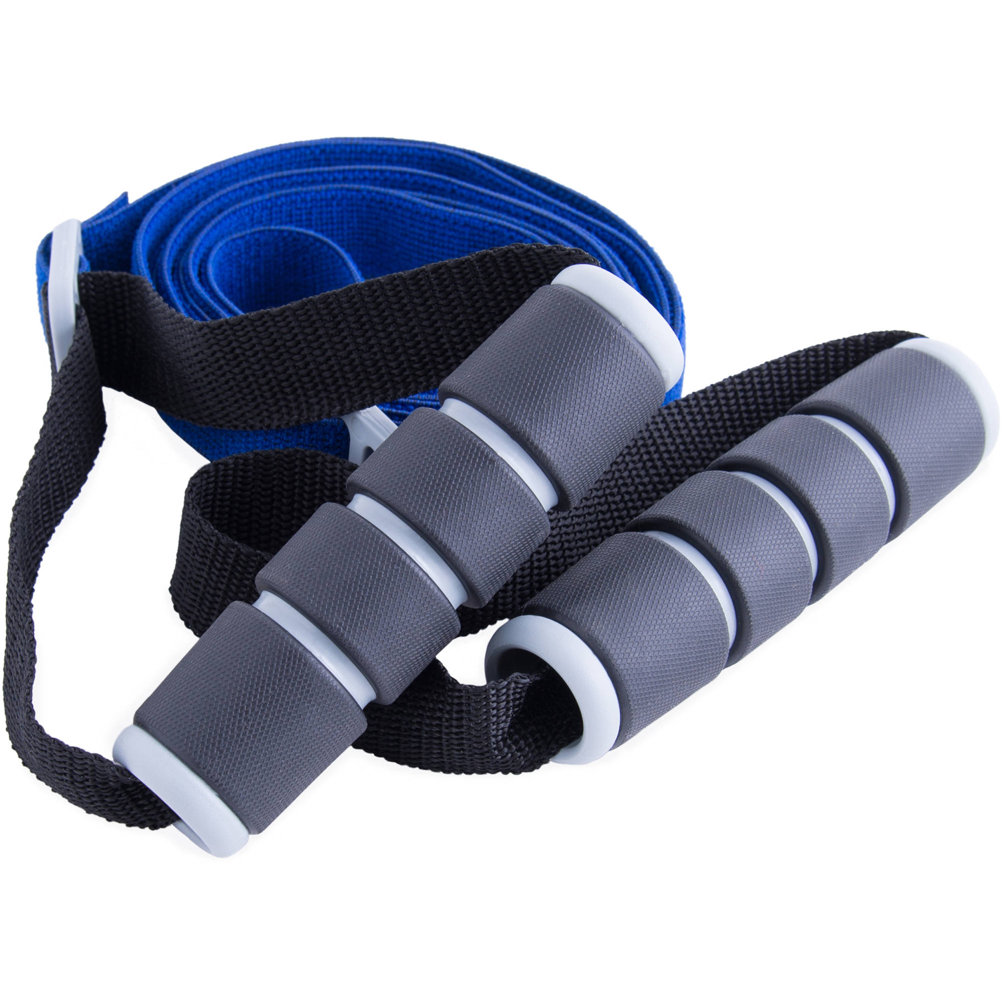 Fuel Elastic Band with Handle, Medium Resistance, Blue