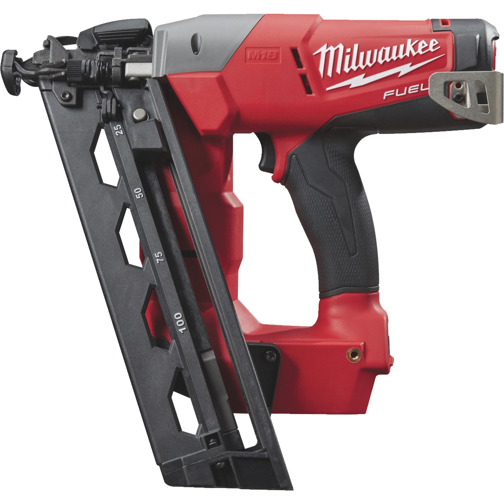 Milwaukee M18 FUEL Brushless Cordless Finish Nailer Bare Tool by Milwaukee Elec