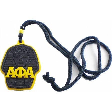 X Men Symbol (Alpha Phi Alpha Sphinx Head Symbol Medallion [Gold/Black -)