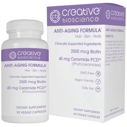 Creative Bioscience Anti-Aging Formula Dietary Supplement, 30 count