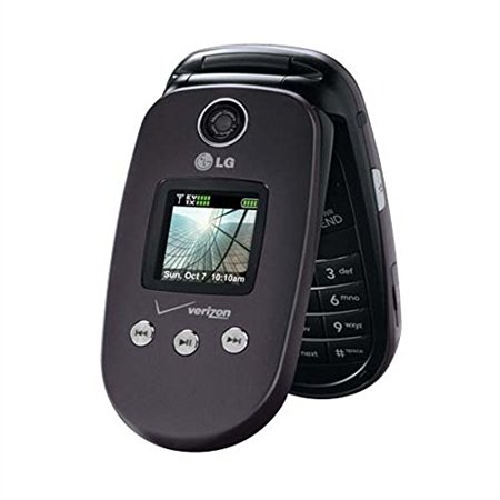 Lg Vx 8350 Dark Gray Cell Phone For Verizon Wireless Contract Free Manufacture Refurbished