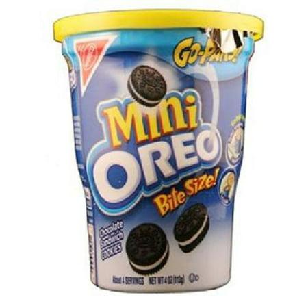 NABISCO GO-PAKS OREO MINI 3.5 oz (Halloween Snacks With Oreos)