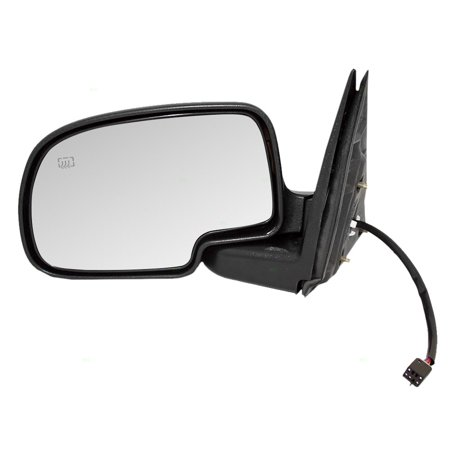 Drivers Power Side View Mirror Heated Replacement for Chevrolet Cadillac GMC Pickup Truck SUV 15179832