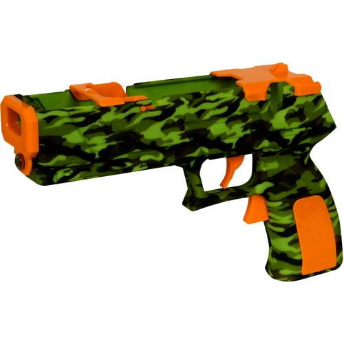 Dreamgear DGWII-1254 Wii MotionPlus Quick Shot Plus Dual Trigger Light Gun - Camouflage