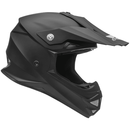 Dirt Bike Helmet With Visor >> Vega Helmets Mighty X2 Kids Youth Dirt Bike Helmet Motocross Full
