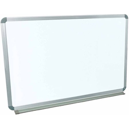 Luxor Magnetic Wall-Mounted Dry Erase Board, 36