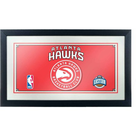 Atlanta Hawks NBA Framed Logo Mirror by