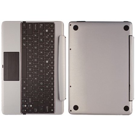 - Skinomi Brushed Aluminum Cover for Asus EEE Pad Transformer Prime TF201 Keyboard