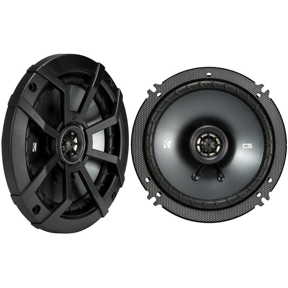 "Pair KICKER 43CSC654 CSC65 6.5"" 6-1/2"" 600w 4-Ohm Car Audio Coaxial Speakers"