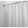 Mold & Mildew Resistant Fabric Shower Curtain Liner - White
