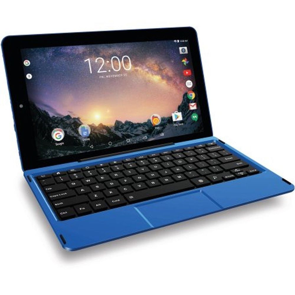 "Refurbished RCA RCT6513W87DK B Galileo Pro 11.5"" 32GB 2-in-1 Tablet with Keyboard Case Blue"