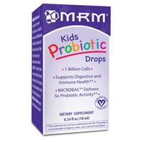 MRM Kids Probiotic Drops, 0.34 Fl Oz
