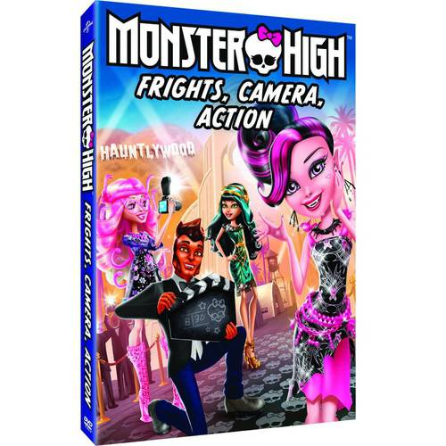MONSTER HIGH-FRIGHTS CAMERA ACTION (DVD)