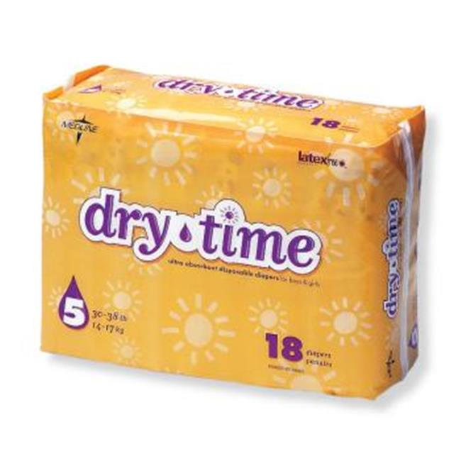 Bulk Buys Dry Time Baby Diapers - Case of 120