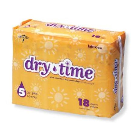 Bulk Buys Dry Time Baby Diapers   Case Of 120