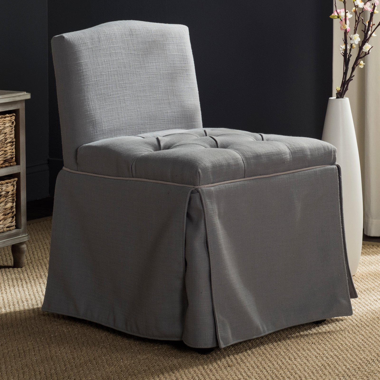 Safavieh Betsy Vanity Chair, Multiple Colors
