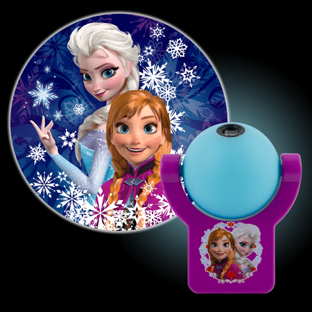 Projectables Disney Frozen LED Plug-In Night Light, Elsa & Anna, 13340 - Projectables Led Night Light Halloween