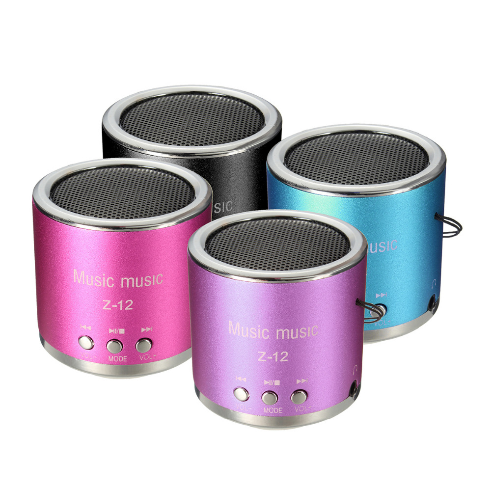 OUTOP Portable Mini Speaker Amplifier FM Sound Music Radio HIFI MP3 Player