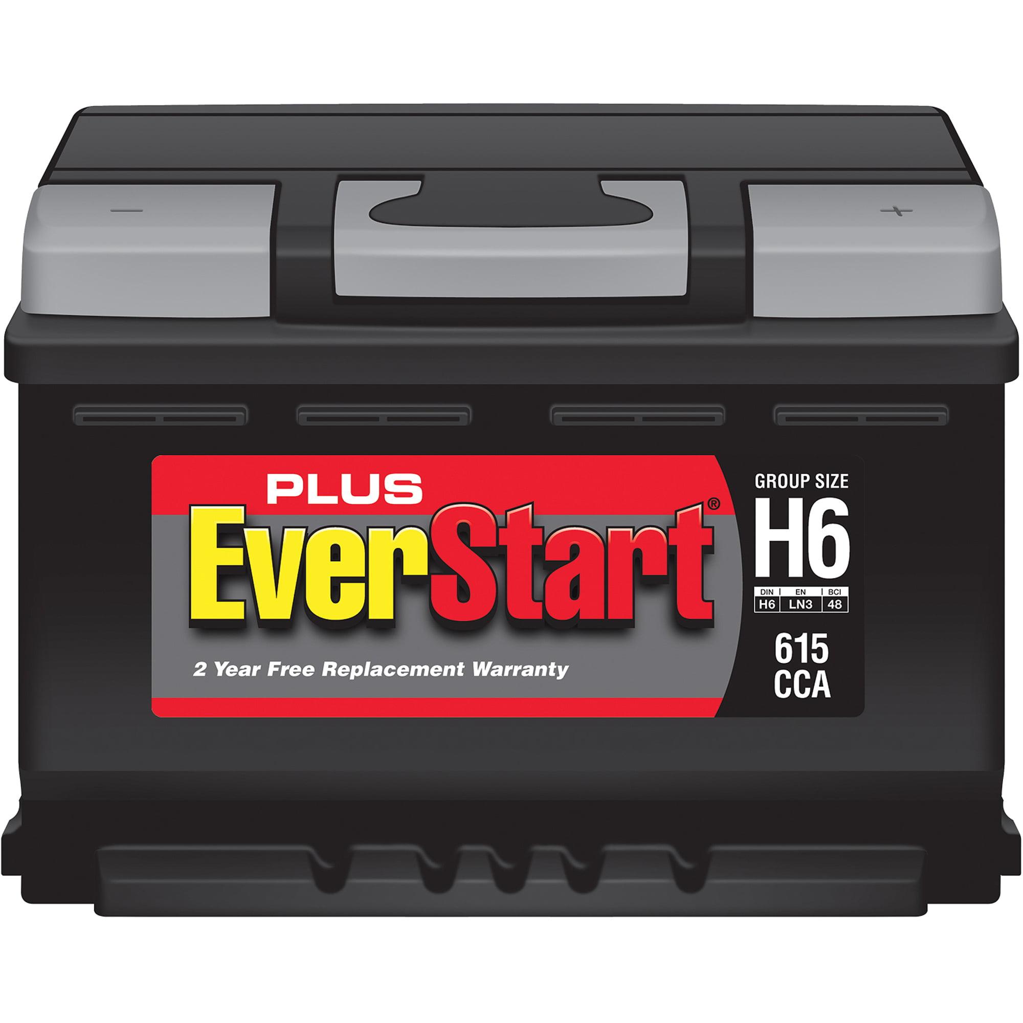 EverStart Plus Lead Acid Automotive Battery, Group Size H6