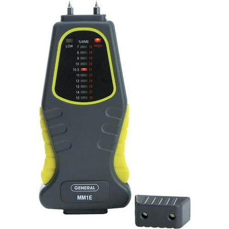 General Tools MM1E Moisture Meter, Pin Type, LED Bar Graph - image 1 of 1
