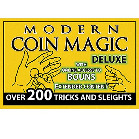 Magic Makers Modern Coin Magic Deluxe   Over 200 Tricks And Sleights   4 Dvd Set