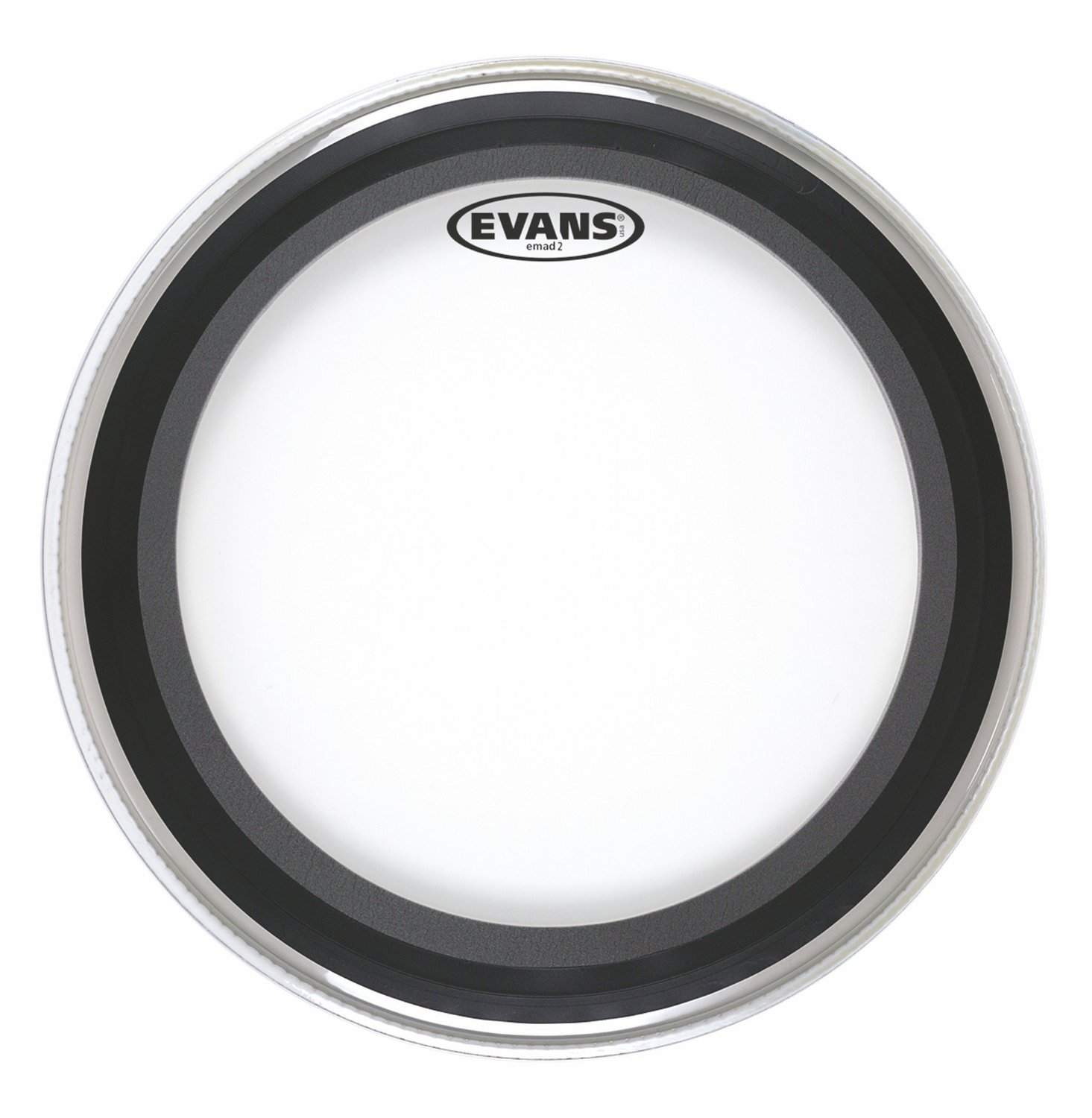 """Evans BD22EMAD2 22"""" EMAD2 Batter Bass Drum Head Clear by Evans"""