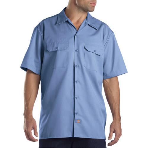 Dickies Men's Original Fit Short Sleeve Twill Work Shirt - Walmart.com