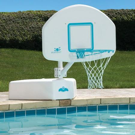 Splash Shoot Swimming Pool Basketball Hoop With Stainless Steel Rim