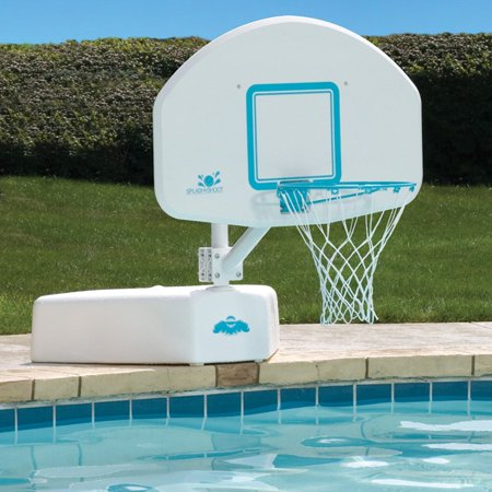 Splash Shoot Swimming Pool Basketball Hoop With Stainless Steel Rim