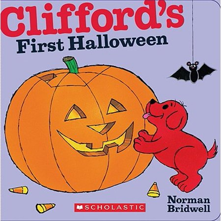 Cliffords 1st Halloween (Board Book) - Halloween Pre-k Theme