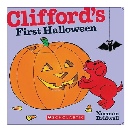 Cliffords 1st Halloween (Board Book) - Halloween Stories For First Grade