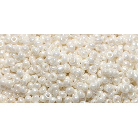 Cousin JBSB-33031 bijoux Basics Rocailles 1,1 once-pkg-Blanc Perle ronde - image 1 de 1