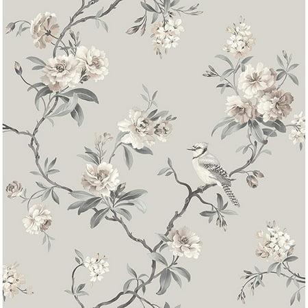Fine Décor Chinoiserie Stone Floral Wallpaper